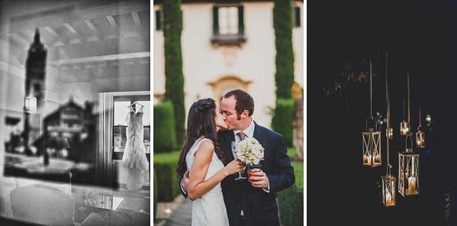 During a wedding of Aessandro+Amanda