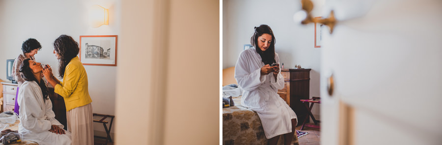 Getting ready during a wedding |. Livio Lacurre Photography
