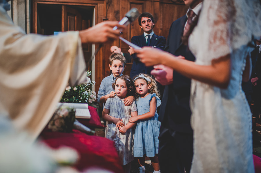 Kids at Wedding in Certosa of Florence | Livio Lacurre Photography