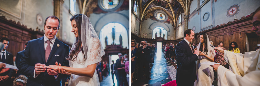 Wedding Ceremony in Certosa of Florence | Livio Lacurre Photography