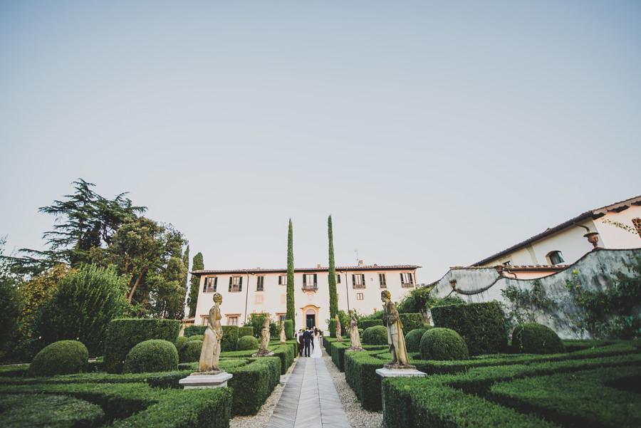 Villa le Piazzole during a wedding | Livio Lacurre Photography