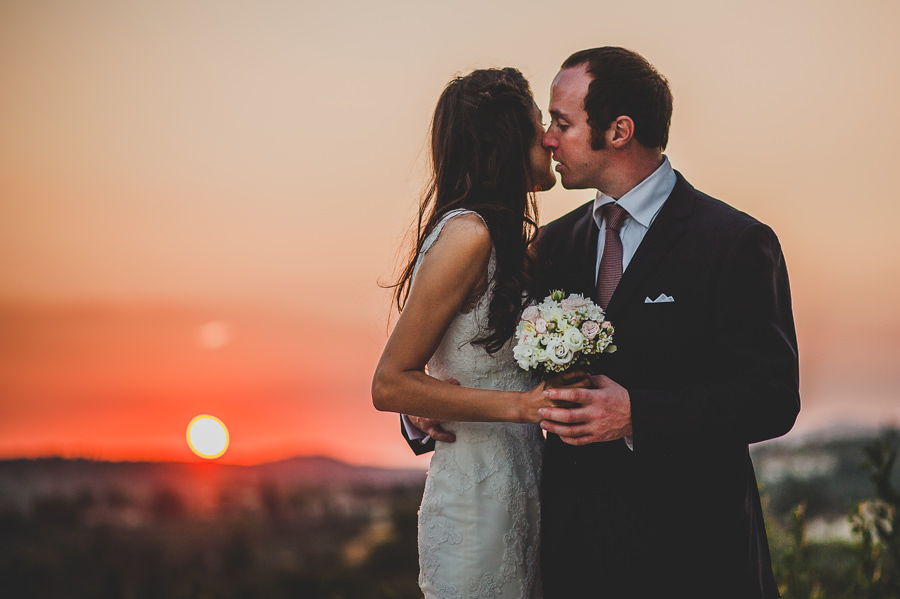 Bride and groom during a wedding in Florence | Livio Lacurre Photography