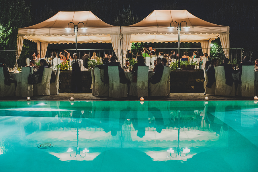 wedding dinner in Florence | Livio Lacurre Photography