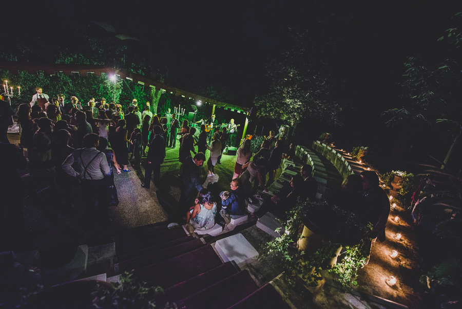 Rock and Roll during a wedding in Villa le Piazzole | Livio Lacurre Photography